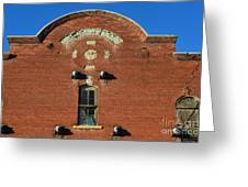 Forgotten Brewery Greeting Card by Luther   Fine Art