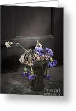 Forgotten Flowers Greeting Card by Svetlana Sewell
