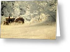 Forgotten Harvest Greeting Card by Luke Moore