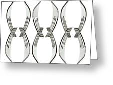 Forks Greeting Card by Blink Images