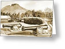 Fort Davidson Cannon Iv Greeting Card by Kip DeVore