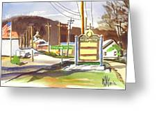 Fort Davidson Memorial Pilot Knob Missouri Greeting Card by Kip DeVore