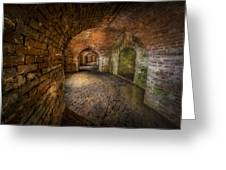 Fort Macomb Greeting Card by David Morefield