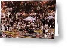Fort Pierce Jazz Festival Greeting Card by Richard Hemingway