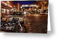 Fort Worth Stockyards Greeting Card by John Hesley