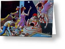 Fortune Sellers Greeting Card by Paul Hilario