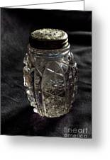 Found  Salt Shaker Greeting Card by   Joe Beasley