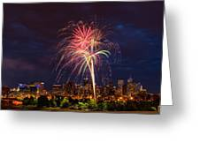 Fourth of July Greeting Card by John K Sampson