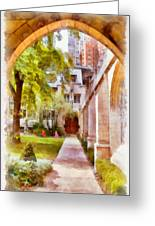 Fourth Presbyterian - A Chicago Sanctuary Greeting Card by Christine Till