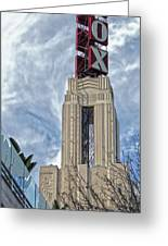 Fox Theater - Pomona - 01 Greeting Card by Gregory Dyer