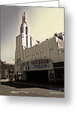 Fox Theater - Pomona - 05 Greeting Card by Gregory Dyer
