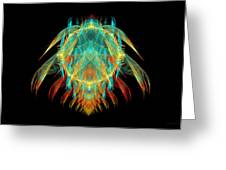 Fractal - Insect - I Found It In My Cereal Greeting Card by Mike Savad