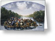 Francis Marion (c1732-1795) Greeting Card by Granger