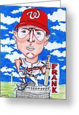 Frank_howard Greeting Card by Paul Nichols