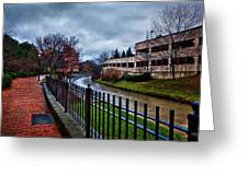 Franklin Park Greeting Card by Everet Regal