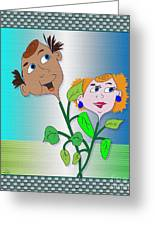 Freddy And Fern Greeting Card by Iris Gelbart