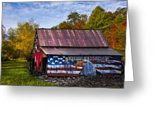 Freedom Is Not Free Greeting Card by Debra and Dave Vanderlaan