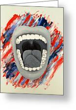 Americas Voice Greeting Card by Scott French
