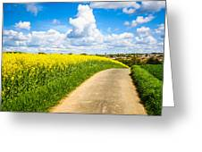 French Countryside Greeting Card by Nila Newsom