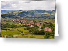 French Landscape 2 Greeting Card by Allen Sheffield