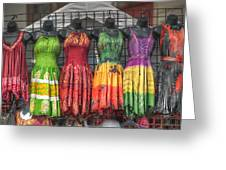 French Market Flair Greeting Card by Brenda Bryant