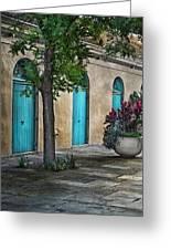 French Quarter Alley Greeting Card by Brenda Bryant