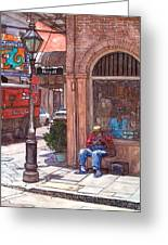 French Quarter Royal St. Greeting Card by John Boles