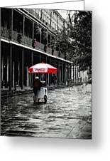 French Quarter Solitude...... Greeting Card by Tanya Tanski