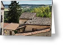French Roofs Greeting Card by Nomad Art And  Design