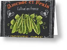 French Vegetables 2 Greeting Card by Debbie DeWitt