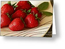 Fresh Berries Greeting Card by Inspired Nature Photography By Shelley Myke