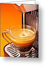 Fresh Espresso Greeting Card by Carlos Caetano