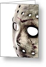 Friday The 13th Greeting Card by Benjamin Yeager