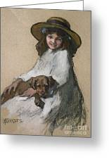 Friends Greeting Card by Elizabeth Adela Stanhope Forbes