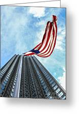 From A Different Perspective Greeting Card by Rene Triay Photography