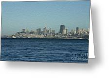 From Sausalito Greeting Card by David Bearden