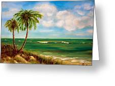 From The Beach Greeting Card by Anne Barberi