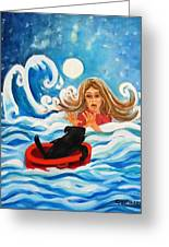 Front Cover Greeting Card by Carol Allen Anfinsen