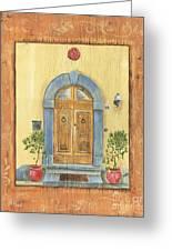 Front Door 1 Greeting Card by Debbie DeWitt