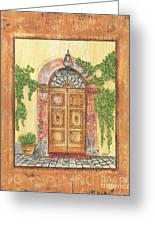 Front Door 2 Greeting Card by Debbie DeWitt
