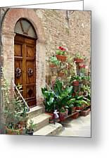 Front Door Greeting Card by Ellen Henneke
