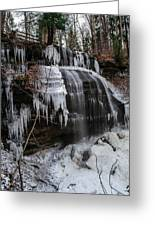 Frozen Buttermilk Falls Greeting Card by Anthony Thomas