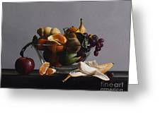 Fruit Bowl No.2 Greeting Card by Larry Preston