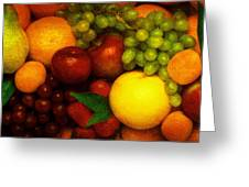 Fruit Greeting Card by Mauro Celotti