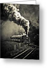 Full Steam Ahead Greeting Card by Phil 'motography' Clark