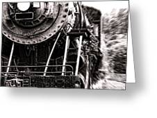 Full Steam Greeting Card by Olivier Le Queinec
