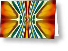 Fury Pattern 6 Greeting Card by Amy Vangsgard