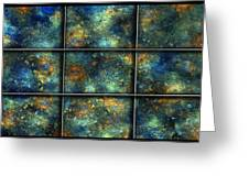 Galaxies II Greeting Card by Betsy C  Knapp