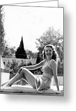Gale Storm Greeting Card by Silver Screen