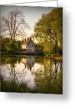 Game Keepers Cottage Cusworth Greeting Card by Ian Barber